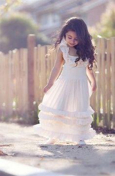 One Good Thread - Dollcake Sunday Rose Ruffled Knit Frock Dress, (www.onegoodthread...)