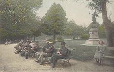 Parc Montsouris, vicino alla Cité Universitaire, dove andavo a fare lunghe passeggiate nei pomeriggi di marzo