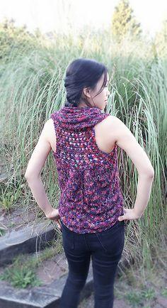Ravelry: Elainie Bolero Vest pattern by Amelia So
