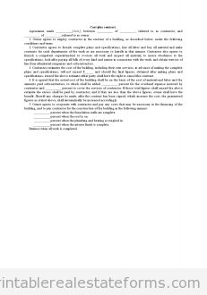 Printable Sample management contract for major hotel with incentive ...