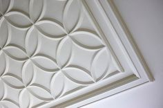 Designed by Regina Sturrock Design Inc. The power of a beautiful ceiling detail can never be underestimated