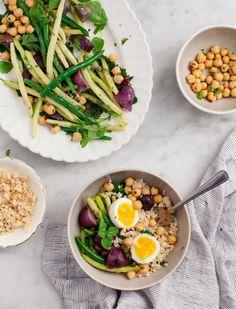 Judía verde y ensalada de patata púrpura | 7 Quick And Healthy Dinners To Make This Week