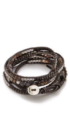 Chan Luu Agate Wrap Bracelet. Want this.