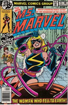 Ms. Marvel 23 April 1979 Issue   Marvel Comics  by ViewObscura