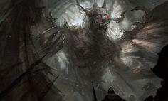 Winged Demon by mlappas.deviantart.com on @deviantART