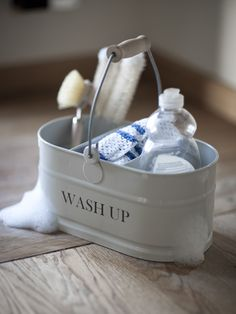 Washing Up Tidy...I love this versatile utility bucket...perfect for my dream kitchen. #coxandcoxkitchen