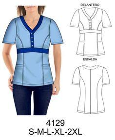 Scrubs Pattern, Corporate Uniforms, Cute Scrubs, Scrubs Uniform, African Fashion Dresses, Cut Shirts, Diy Clothing, Fashion Flats, Plus Size