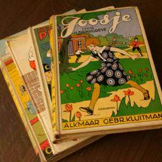 Oude kinderboeken van de Kringloopwinkel