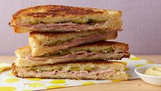 Garlicky Ham and Swiss | Recipes | Food Network UK