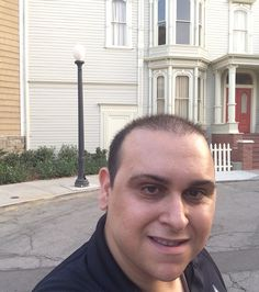 Mark Sinacori at the Fuller House house at WB (July 2016)