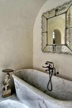 I love this tub and walls!