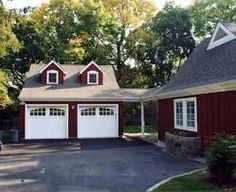 Image Result For 2 Car Garage To Breezeway House
