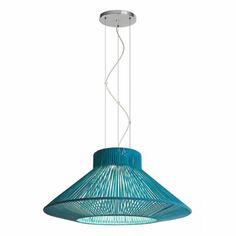 Lámpara colgante Koord 1 luz 70cm - El Torrent