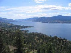 Okanagan Valley (Napa North) - sun, wine, lakes and mountains