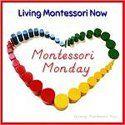 Tactile Nature Letters with Free Printable Letter Templates {Montessori Monday} - LivingMontessoriNow.com