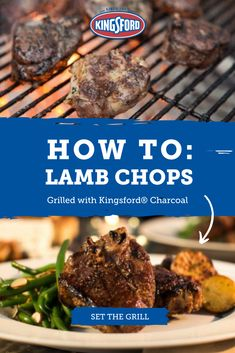 Meaty little lamb loin chops are the perfect special-occasion grilled treat. For a romantic dinner or a celebration, thick lamb loin chops are just the ticket. Tap the pin to learn more. Lamb Chop Recipes, Meat Recipes, Cooking Recipes, Recipies, Lamb Loin Chops, Grilled Lamb Chops, Easter Dinner Recipes, Lamb Dishes, Chops Recipe