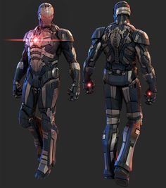 Iron Man designs by Mars