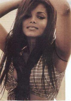 Janet Jackson from the Rhythm Nation era.