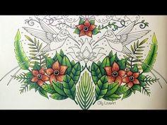 Magical Jungle coloring book | Hummingbirds (part 1) | Selva Magica