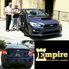 Congratulations Dexter on your 2017 Subaru WRX. Enjoy your beautiful car and thank you for your loyalty.  #empireauto #new #car #lease #purchase #finance #refinance #newcarlease #newcarfinance #leasingcompany #customerservice #GlenoaksBlvd #glendale #brokerage #autobrokersales #autobroker #autobrokers #wholesaler #freeoilchange #freemaintanance #2017subaruwrx