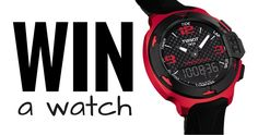 Win a Tissot T-Race Touch Watch Tissot T Race, Bees, Competition, Racing, Touch, Watches, Running, Auto Racing, Clocks