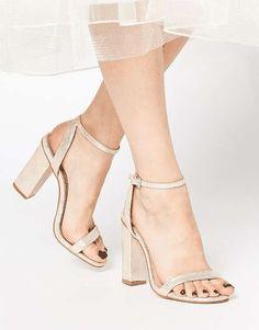 ASOS | HERMIONE Heeled Sandals #Asos #sandal #heels