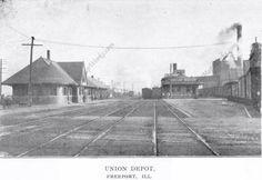 Union depot freeport illinois