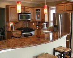 Love the granite countertop