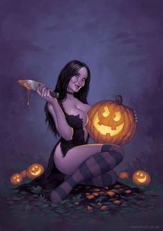 Modern Halloween Pin-Up Halloween Pin Up, Modern Halloween, Halloween Photos, Halloween Horror, Vintage Halloween, Halloween Witches, Happy Halloween Pictures, Whimsical Halloween, Anime Halloween