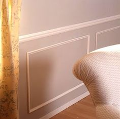 DIY panel molding living room and dining room hmm