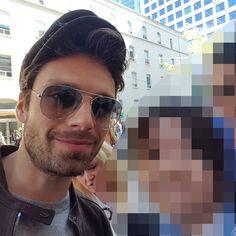 "13 Beğenme, 1 Yorum - Instagram'da みむさん(mimu-san)🐥🐣🐤 (@mim_3_): ""移動途中でセバスチャン・スタンに遭遇したよ。 Selfie with Sebastian Stan. Just encountered at a street! #ITonya #TIFF17…"""