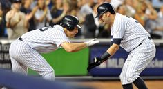 Teixeira and Swisher after grand slam