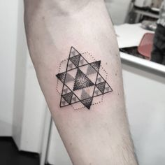 Geometric Triangles by Isabel Barcelona