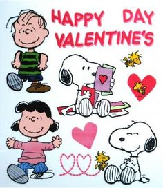 Happy Valentine's Day! #snoopy | Charlie Brown & The Peanuts Gang ...