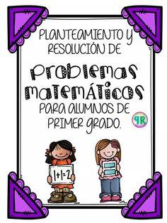 Problemas para I grado | Profe Yano Go Math, Math For Kids, Maila, Math Class, Kindergarten Worksheets, Business For Kids, Teaching Math, Kids And Parenting, Fun Projects