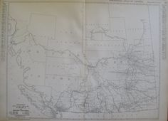 Map of BRITISH COLUMBIA and ALBERTA Canada 1921 Antique Map  Vintage 1920s Atlas Map  Plaindealing 1247