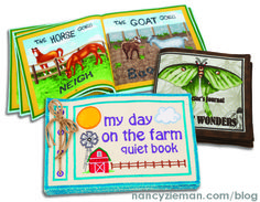 Sew+Soft+Books+for+All+Ages+by+Nancy's+Notions+|+Nancy+Zieman+|+Sewing+With+Nancy+|+Soft+Books