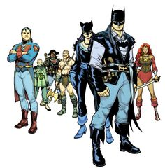 Earth 31  Captain Leatherwing and the crew of The Flying Fox
