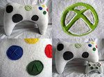 Xbox Controller Neck Pillow by l0rraine on deviantART