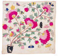수보 :: 지식백과 Embroidery cloth(Pojagi) Korean Traditional, Traditional Art, Fabric Design, Pattern Design, Chinese Patterns, Textile Fiber Art, Korean Art, Textile Patterns, Love Art