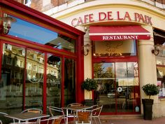 A photo I took in Arras, Nord-Pas-de-Calais in October 2010. France, Northern and Eastern France especially, are peppered with everyday reminders to the great wars of the twentieth century. Café de la Paix (Peace Café), like this one in Arras, roads named Rue du 11 novembre (or Rue du 8 mai 1945, for the liberation of France after WWII), and small (and large) local memorials to the individuals - named - who died in the wars, are ubiquitous throughout France. EC