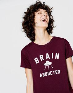 :T-shirt met tekst