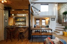 Kitchen Dining, Dining Room, California Style, Scandinavian Design, Family Room, House Plans, Interior, Furniture, Space