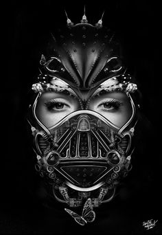 FANTASMAGORIK® DARK V. QUEEN by obery nicolas, via Behance