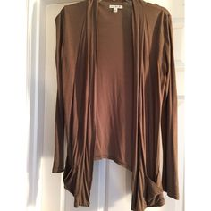 Comfy Open Cardigan American Eagle Outfitters army green open cardigan. Great condition. American Eagle Outfitters Sweaters Cardigans