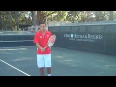 Back Hand Slice Tennis Tip at Omni Amelia Island Plantation & other tennis videos