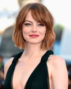 12 great celebrity hairstyles for 2019 # hairstyle trends # trend . 12 great celebrity hairstyles for 2019 # Source by frisurgram Lob Haircut, Lob Hairstyle, Hairstyle Ideas, Medium Bob Hairstyles, Pretty Hairstyles, Glamorous Hairstyles, Spring Hairstyles, Emma Stone, Short Hair Cuts