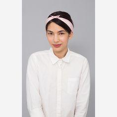 Paisley Silk Bandana (Pink)