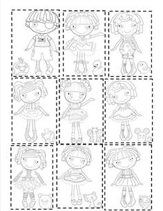 lalaloopsy printable diy party lalaloopsy partyprintable coloring pages4th
