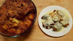 Aranygaluska (Găluște aurii) sos cremos de vanilie (gluten free) Sin Gluten, Wok, Mashed Potatoes, Cauliflower, Vegetables, Ethnic Recipes, Fine Dining, Glutenfree, Whipped Potatoes